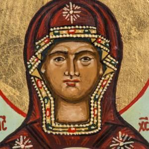 Íconos Pintados Rusia: Ícono ruso pinado Virgen de la Señal 18x12 cm