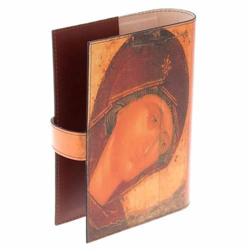 Copertina Bibbia vera pelle volto di Maria s2