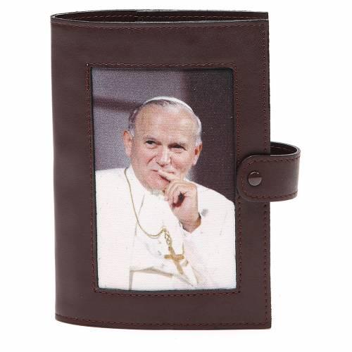 Cop. Lit. 4 vol. pelle testa di moro Giovanni Paolo II s1
