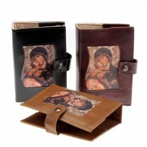 Custodie lit. ore vol. unico: Copertina vol. unico pelle Madonna