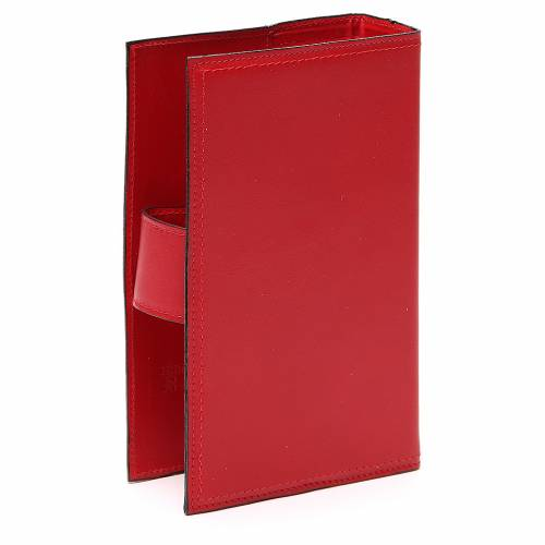 Copribreviario 4 vol. pelle rossa Giotto Ultima Cena Pictografia s3