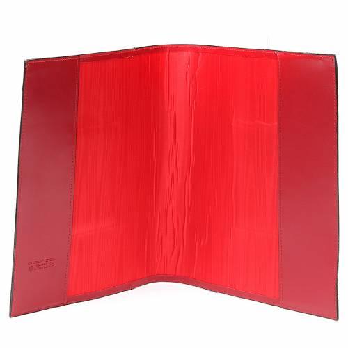 Coprilezionario feriale festivo pelle rossa Ancora Salvezza s4