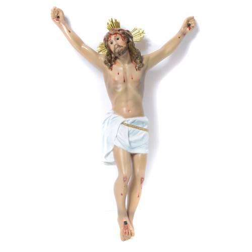 Corpo di Cristo Agonia pasta di legno 30 cm dec. elegante s1