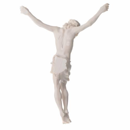 Corps Christ 37 cm poudre de marbre fin. neutre s9