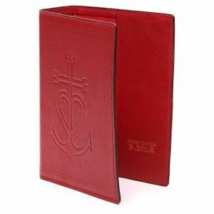 Couverture Bible Jérus. cuir rouge Ancre du Salut s2