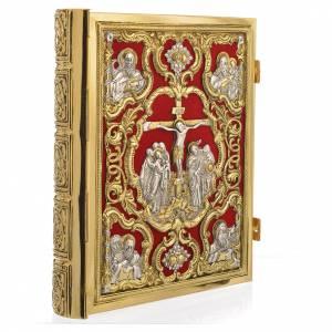 Couvertures pour lectionnaire: Couverture lectionnaire laiton doré Christ Crucifié