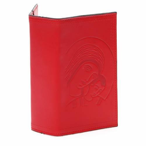 Couverture Lit. Vol. unique cuir rouge Vierge s4