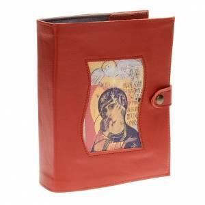 Couverture Néocatéchuménale rouge Vierge et saint esprit s1