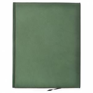 Couvertures pour rites: Couverture rites A4 Agneau or vert Bethléem