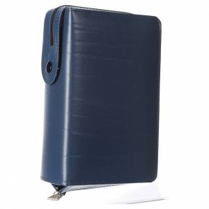 Missal and Benedictional covers: Cover for Saint Paul missal, blue leather