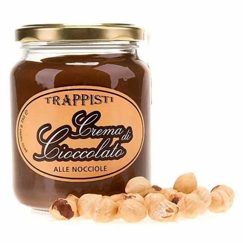 Crema de chocolate con avellanas 350 gr. Trapense s1