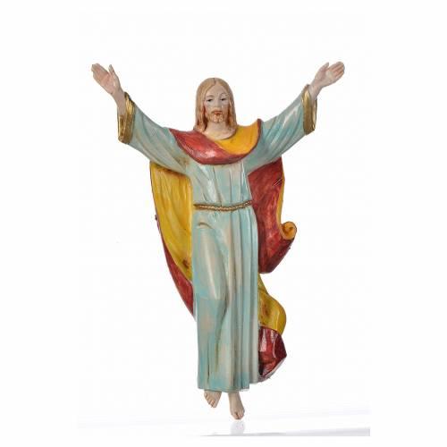 Cristo resucitado en PVC, acabado porcelana 17cm Fontanini 1