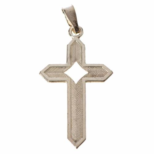 Croce Argento spigata s1
