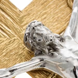 Croce astile metallo lavorato s4