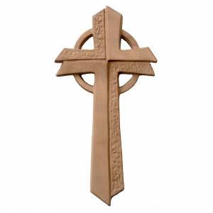 Croce Betlehem in legno d'acero patinato chiaro s1