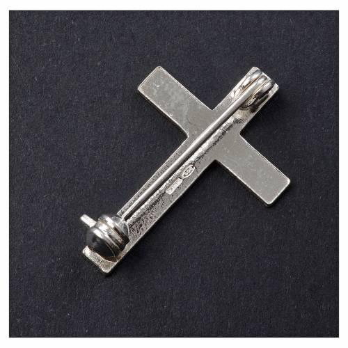 Croce Clergyman argento 800 s3
