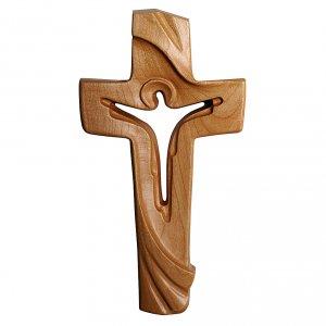 Croce della Pace Ambiente Design legno ciliegio Valgardena satinato s1