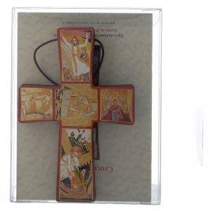 Croce della Passione di Gesù Padre Rupnik 10x15 s2