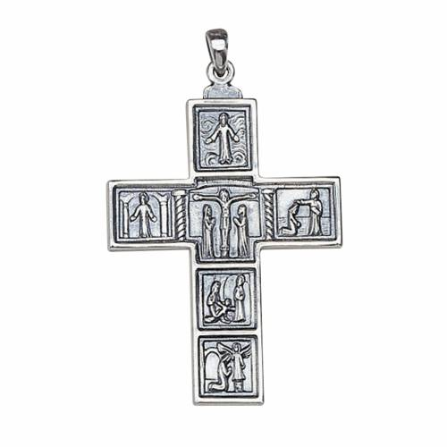 Croce Molina per il collo 6,3x4,5 argento 925 s1