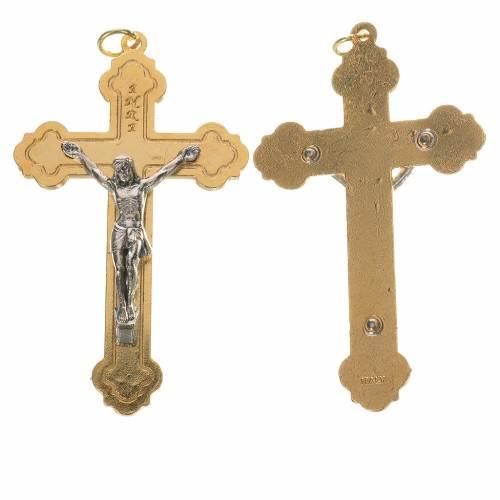 Croix doré corps argenté s1
