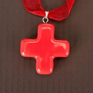 Croix pendentif carrée s7