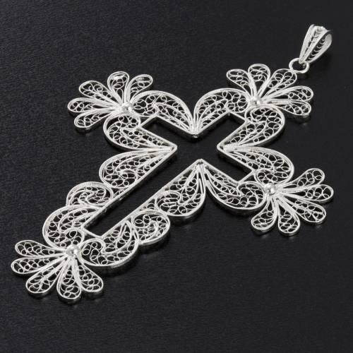 Cross pendant, 800 silver, 15,2g s5