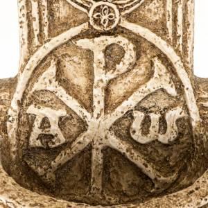 Cross-shaped stoup in stone, Bethléem s3