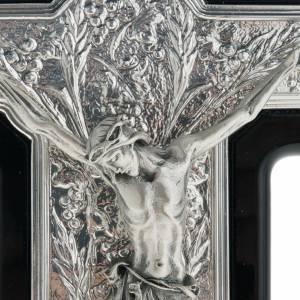 Crucifix argent 925/00 bois foncé s2