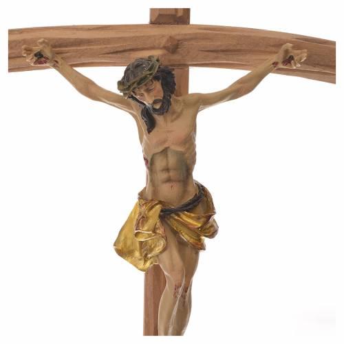 Crucifix en bois 35 cm s2