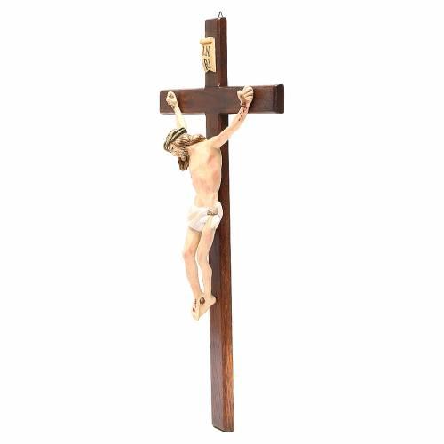 Crucifix en bois peint, plusieurs tailles s3