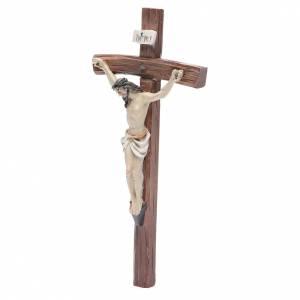Crucifix résine 24x12 cm s2