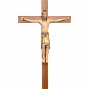Crucifix roman de Altenstadt bois Ancien Or s1