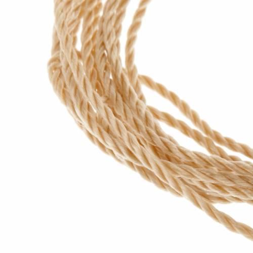 Cuerda beige para rosarios s2