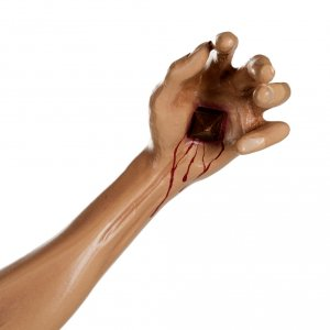 Cuerpo de Cristo  100 cm en fibra de vidrio s8
