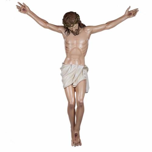 Cuerpo de Cristo  160cm en fibra de vidrio s1