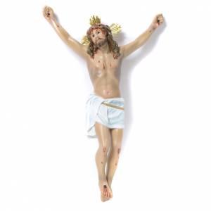 Crucifijos y cruces de madera: Cuerpo de Cristo Agonía pasta de madera 30 cm dec. elegan