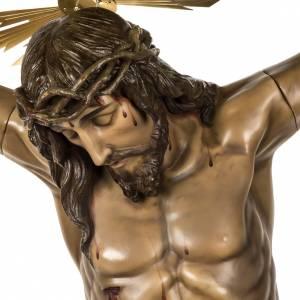 Cuerpo de Cristo muerto 160cm pasta de madera, acabado extra s2