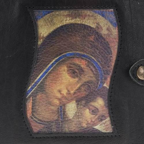 Custodia Neocatecumenale nera Madonna bambino s2