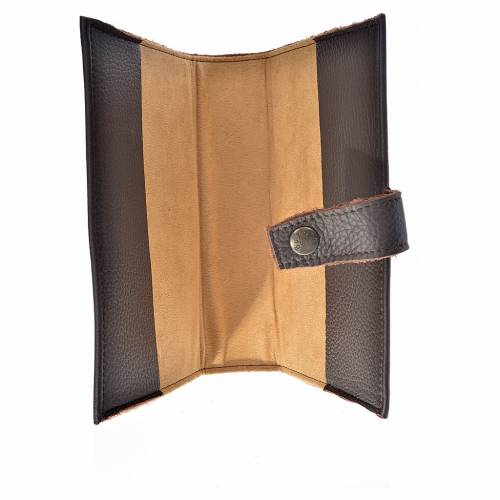 Daily prayer cover genuine leather Our Lady of Kiko s3