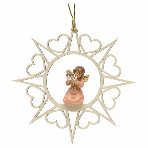 Decoración Ángel con estrellas corazoncitos y un c s1