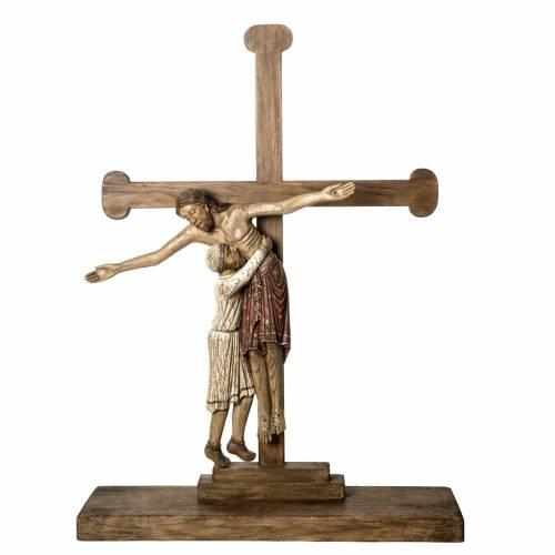 Deposition in old finishing wood 105 cm, Bethlehem Nuns s1