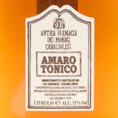 Digestif tonique, petite bouteille, 100ml Camaldoli s2