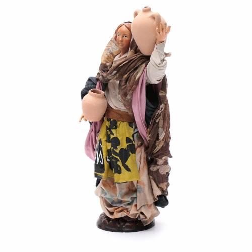 Donna con brocca 30 cm presepe napoletano s2