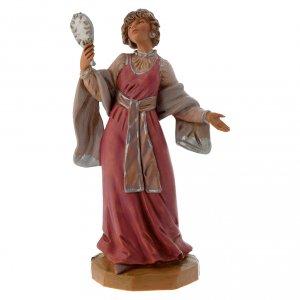 Statue per presepi: Donna con gioielli 12 cm Fontanini