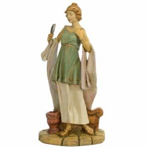 Donna romana 65 cm Fontanini resina s1