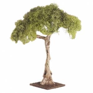 Moos, Stroh und Bäume für Krippe: Eiche für Krippe 25cm