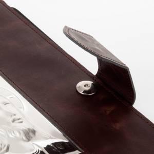 Deckel für Messbücher: Einband Roemisch Messbuch Silber und Leder