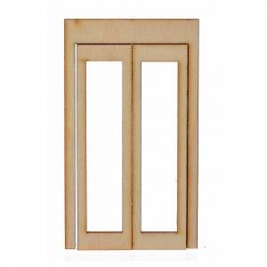 Türen, Geländer: Einfassung aus Holz Krippe 9x5 cm