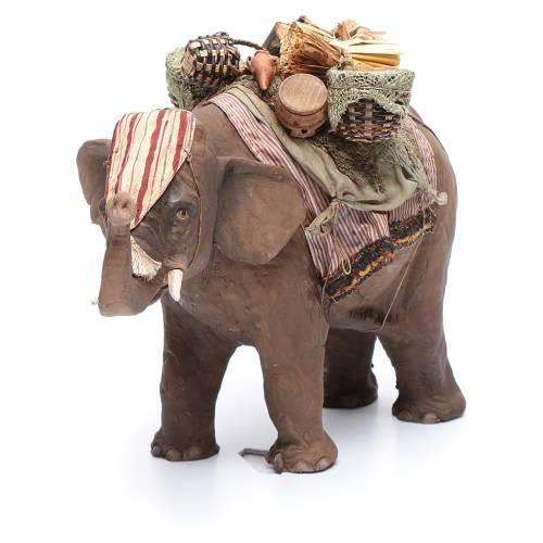 Elefante cargado 13 cm belén Angela Tripi s4