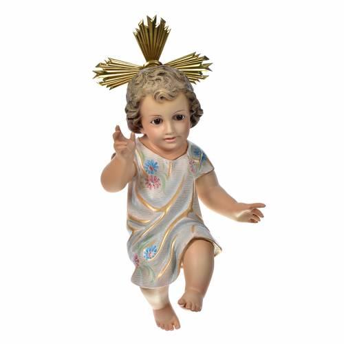 Enfant Jésus 35 cm pâte bois dec. spéciale s1